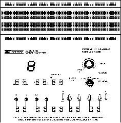 Logic Lab 15035TTTI - Triple breadboard