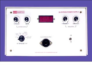 KLYSTRON POWER SUPPLY or Solid State & Digital